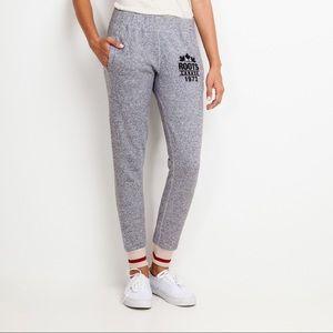 ROOTS   Grey Cabin Jogger Sweatpants